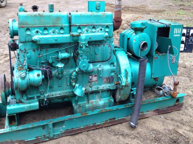 150 Kw F1197gu Waukesha Onan Generator Set Natural Gas