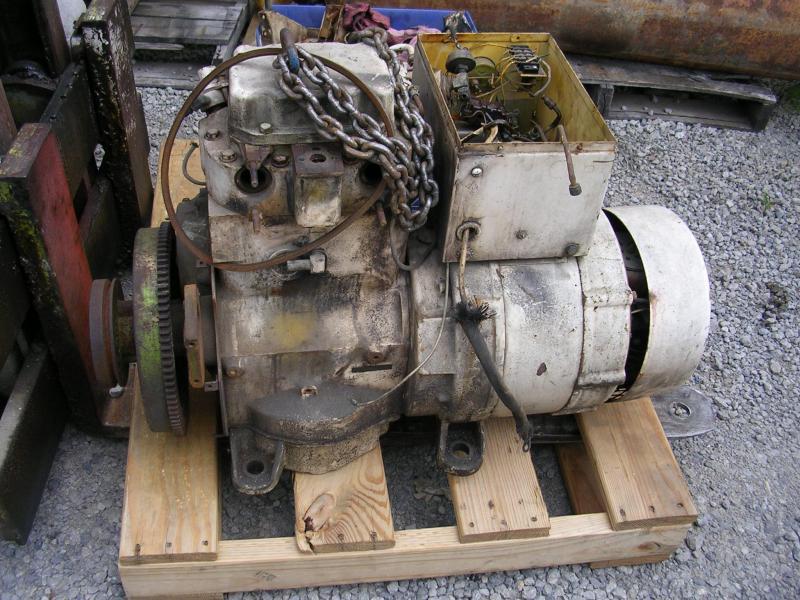 Et øjeblik i livet af rytteren: 7 Kw marine diesel generator