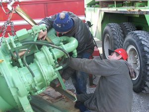 Repairing Engines and Equipment in the Field
